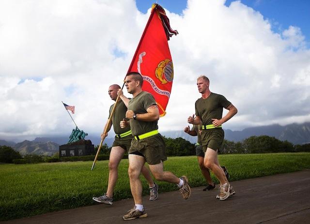 US Marines Run