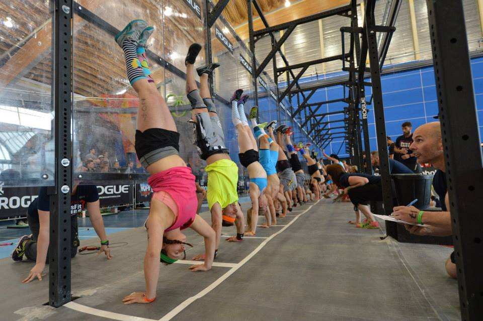 2013 CrossFit Canada West Regional (Image courtesy of CrossFit's Facebook Page).