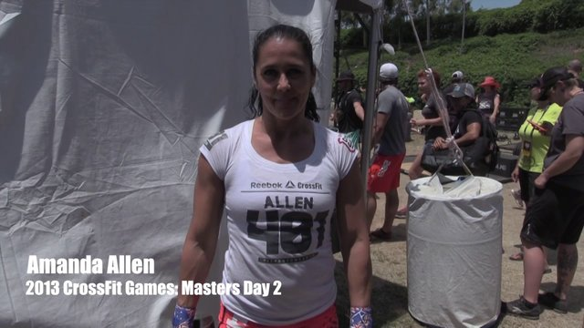 Video thumbnail for vimeo video Amanda Allen: 2013 CrossFit Games - Masters Day 2