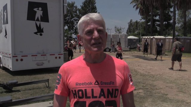 Video thumbnail for vimeo video Clarke Holland: 6th Place - 60+ Men's Masters Division