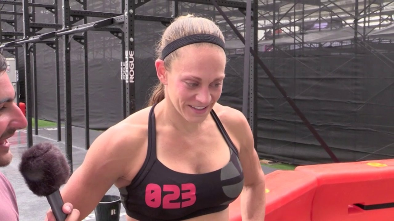 Video thumbnail for vimeo video Talayna Fortunato: 2013 CrossFt Games - Individual Day 2