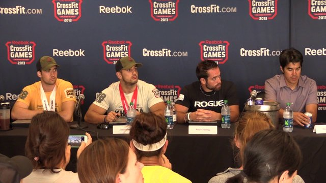 Video thumbnail for vimeo video 2013 CrossFit Games: Entire Press Conference
