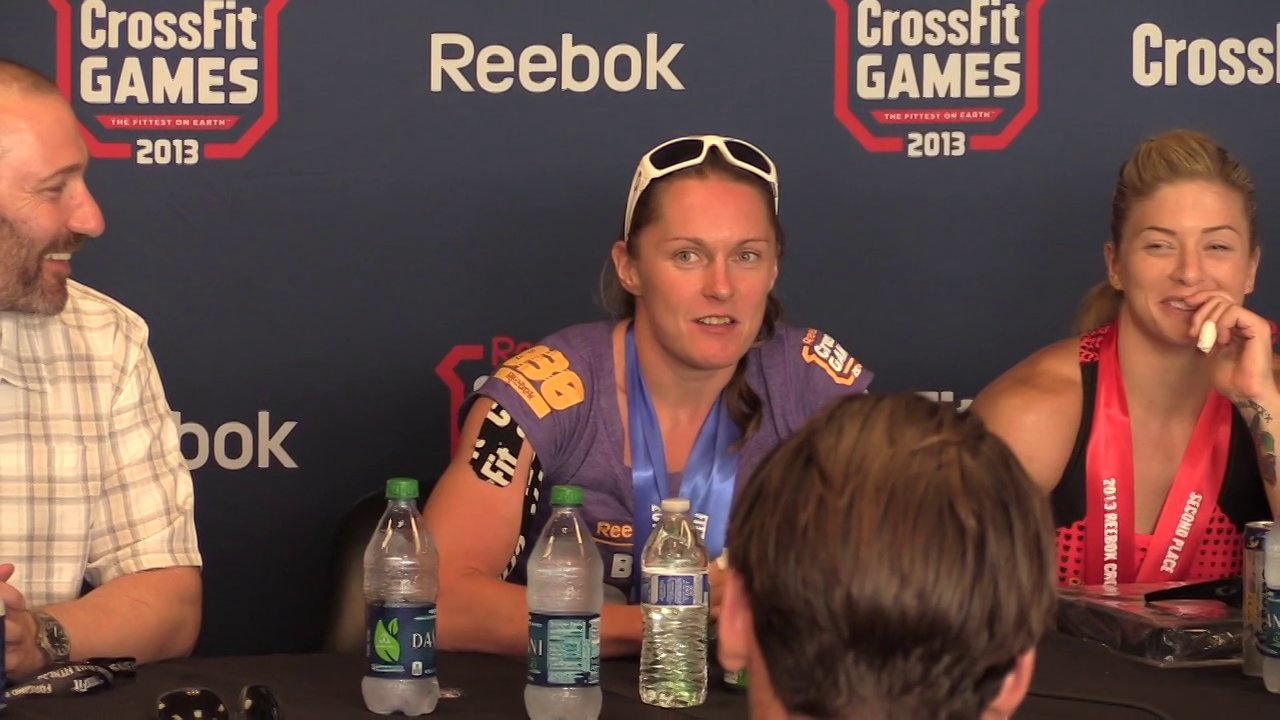 Video thumbnail for vimeo video Sam Briggs: 2013 CrossFit Games Champion