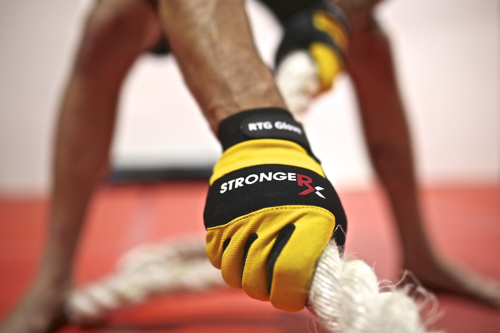 StrongerRx RTG Gloves Rope