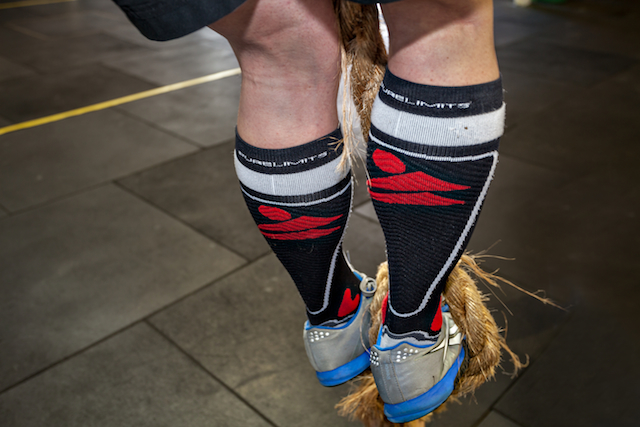 pure limits compression socks