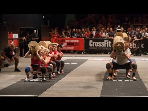 Video thumbnail for youtube video Footage of the 2013 CrossFit Invitational