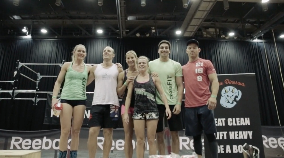 CrossFit Norwest - 3rd place 2014 allstar affiliate series