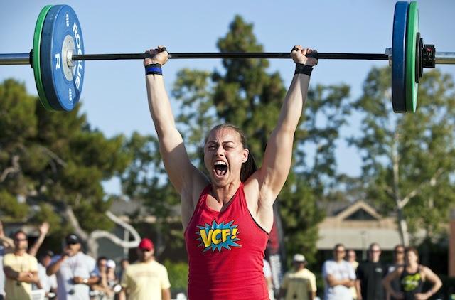 Katie Hogan CrossFit 14.5 Open workout