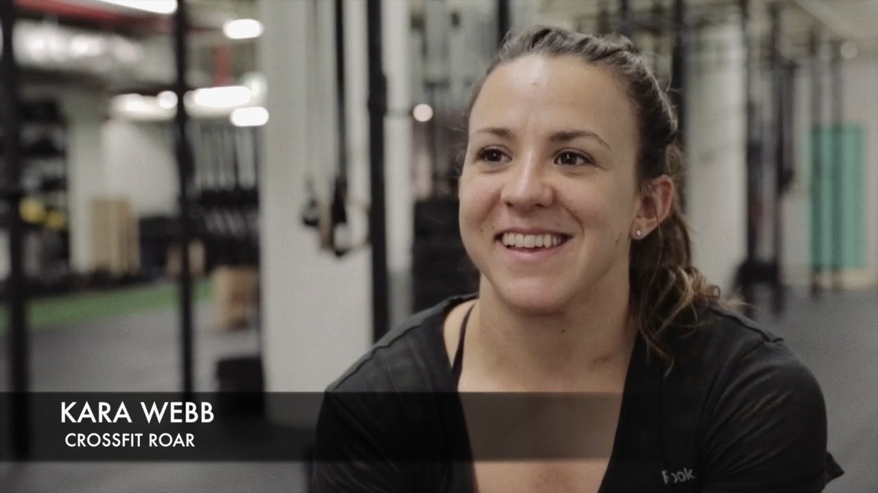 Video thumbnail for vimeo video Interview: Kara Webb - 2014 CrossFit Open Winner Minus 14.3