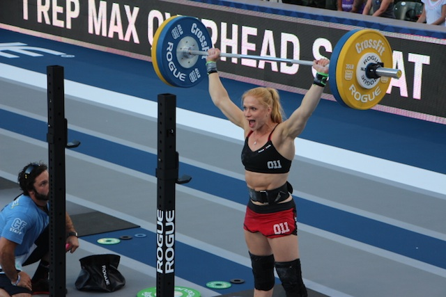 Annie Thorisdottir at the 2014 CrossFit Games
