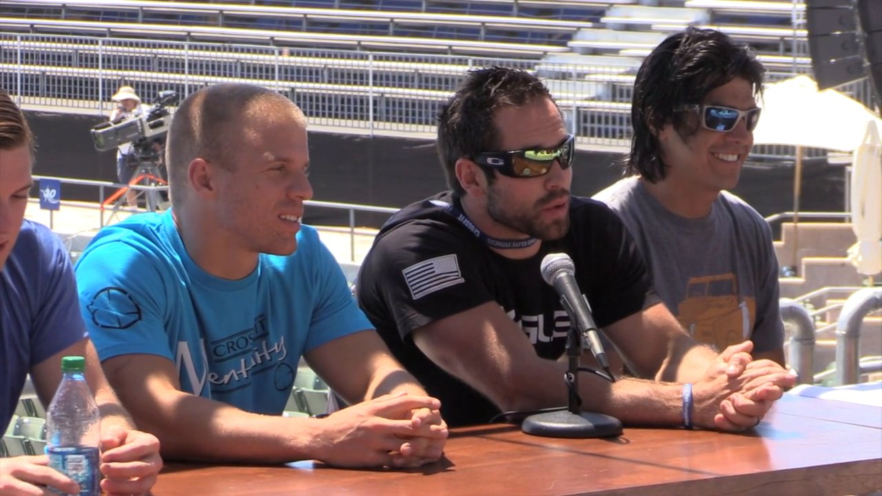 Video thumbnail for vimeo video Rich Froning on Retirement, Event 2 & Being a Dad
