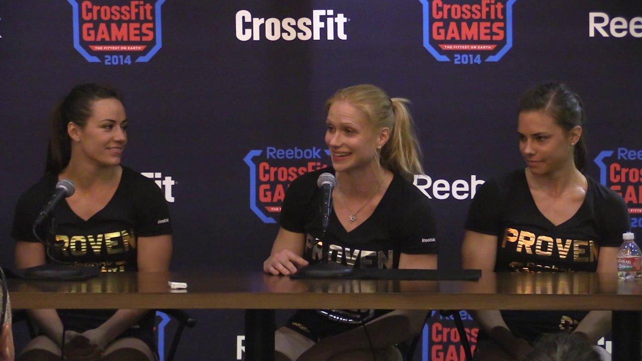 Annie Thorisdottir 2014 CrossFit Games runner-up