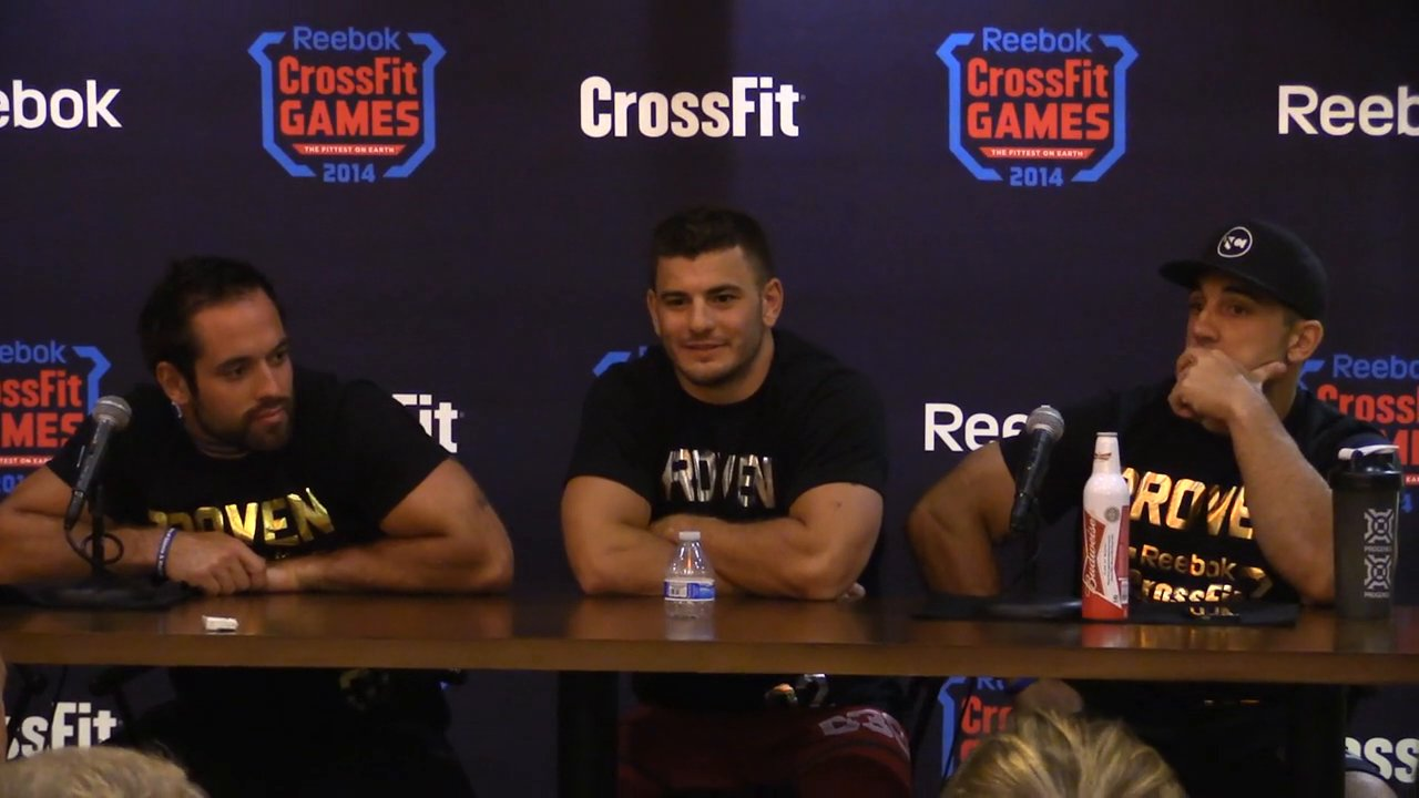 2014 crossfit games media conference
