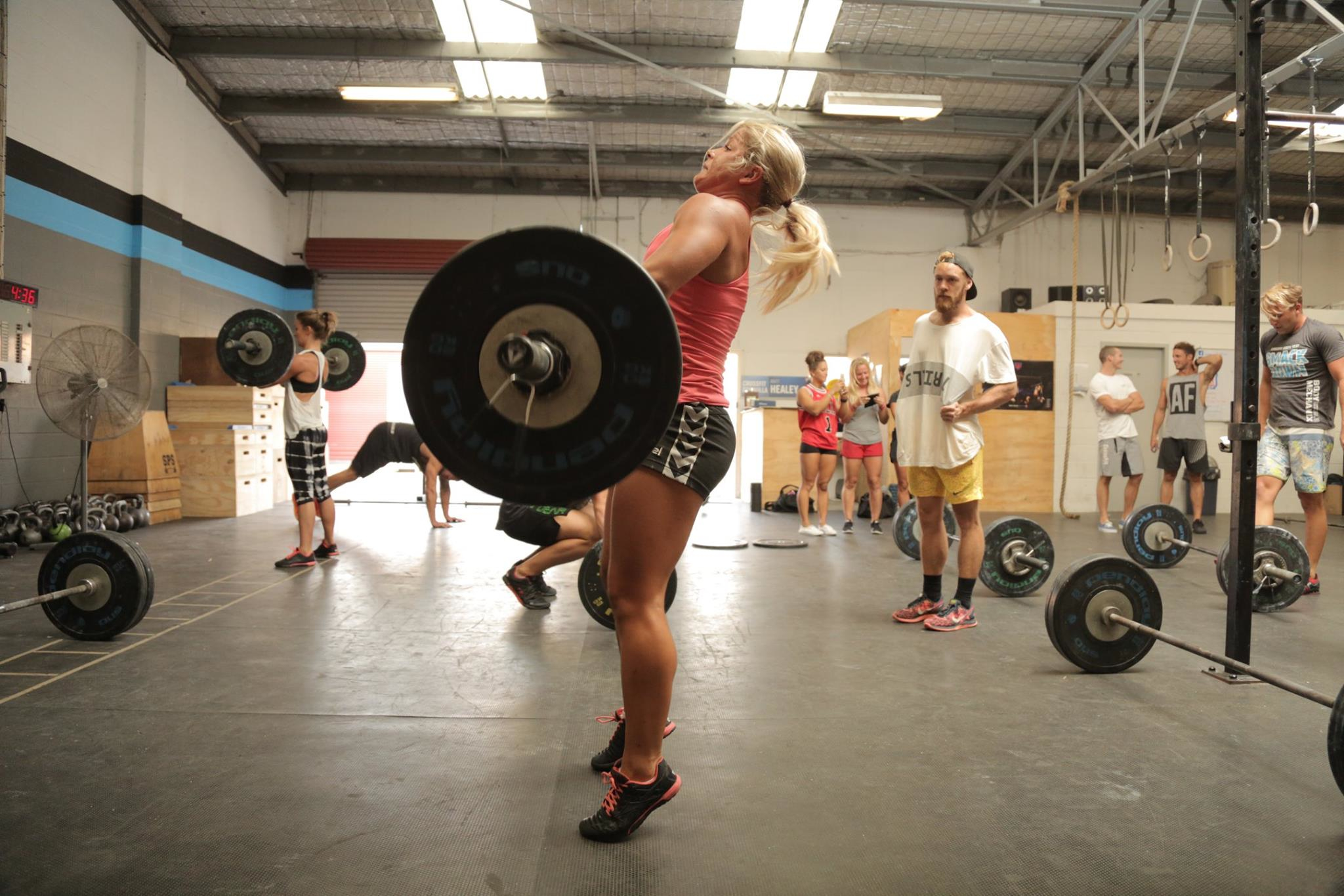 CrossFit Cronulla hot chick