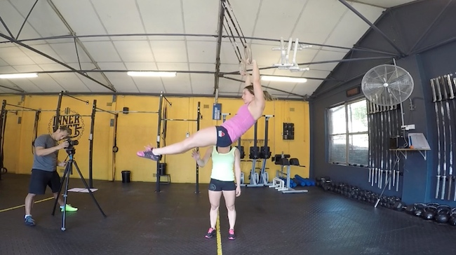 Gymnastics tips kipping muscle-up