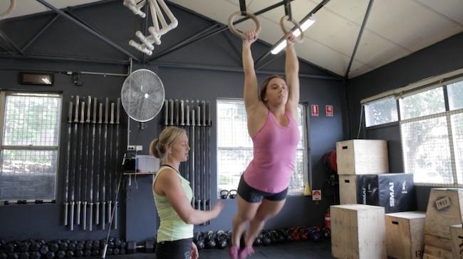 Gymnastics tips kipping muscle up 1
