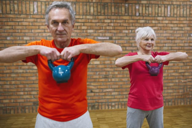 elderly fitness