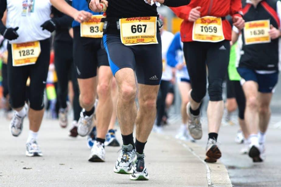 marathon running water