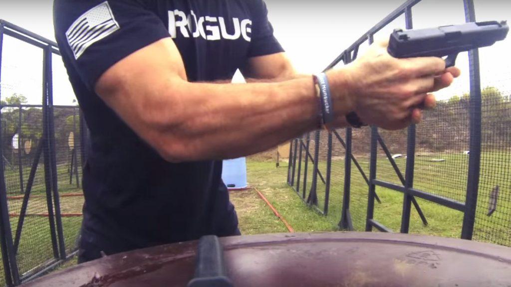 crossfit shooting guns hunting