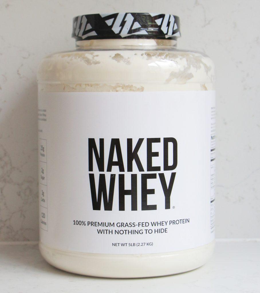 naked whey naken nutrition